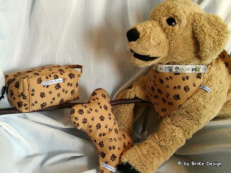 Kleinesbild -  ♡Hunde-Leckerli-Beutel Edelweiss♡ handmade BriKe Design