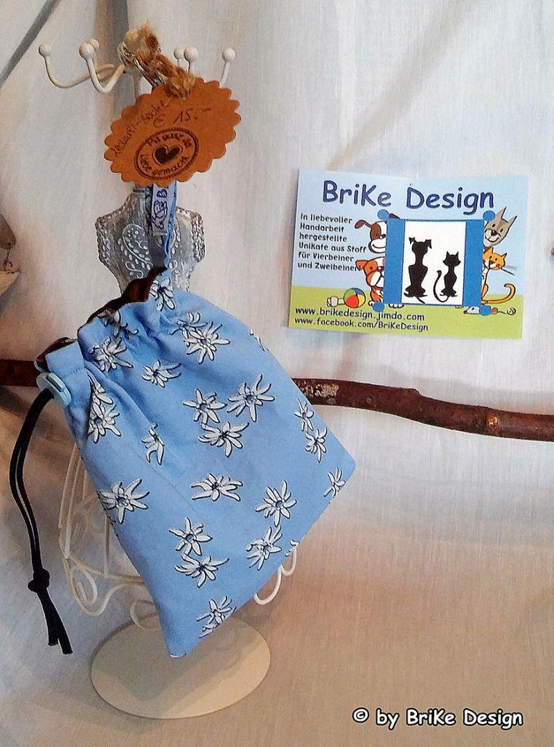 -  ♡Hunde-Leckerli-Beutel Edelweiss♡ handmade BriKe Design  -  ♡Hunde-Leckerli-Beutel Edelweiss♡ handmade BriKe Design