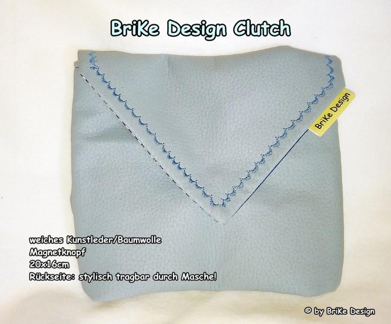 Kleinesbild -  ☀stylische Clutch☀ *Masche* handmade BriKe Design