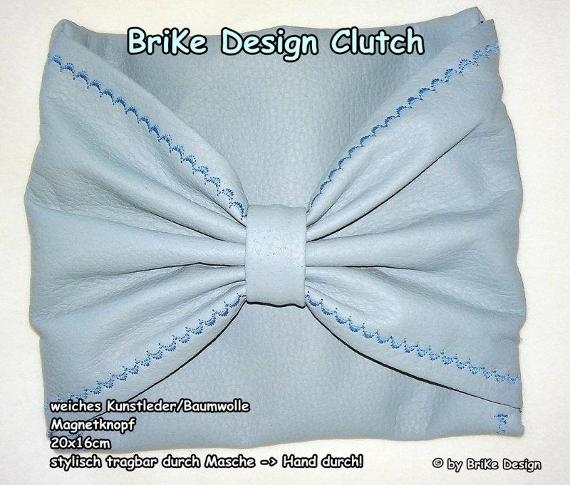 -  ☀stylische Clutch☀ *Masche* handmade BriKe Design -  ☀stylische Clutch☀ *Masche* handmade BriKe Design