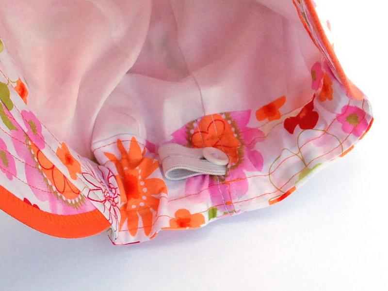 Kleinesbild - Sommerhut zum Mitwachsen für Mädchen