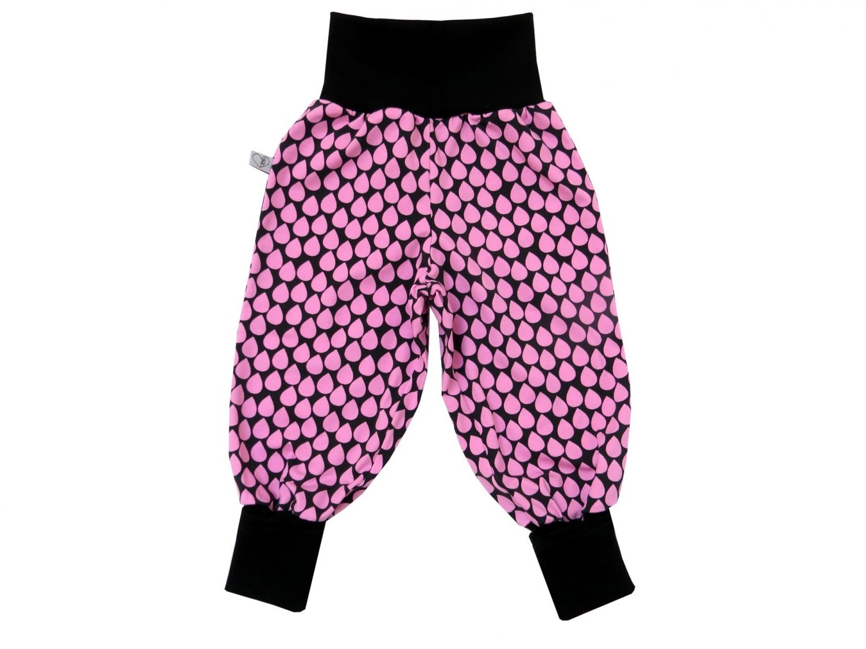 - Mitwachshose Tropfen Hose Pumphose in rosa und schwarz - Mitwachshose Tropfen Hose Pumphose in rosa und schwarz
