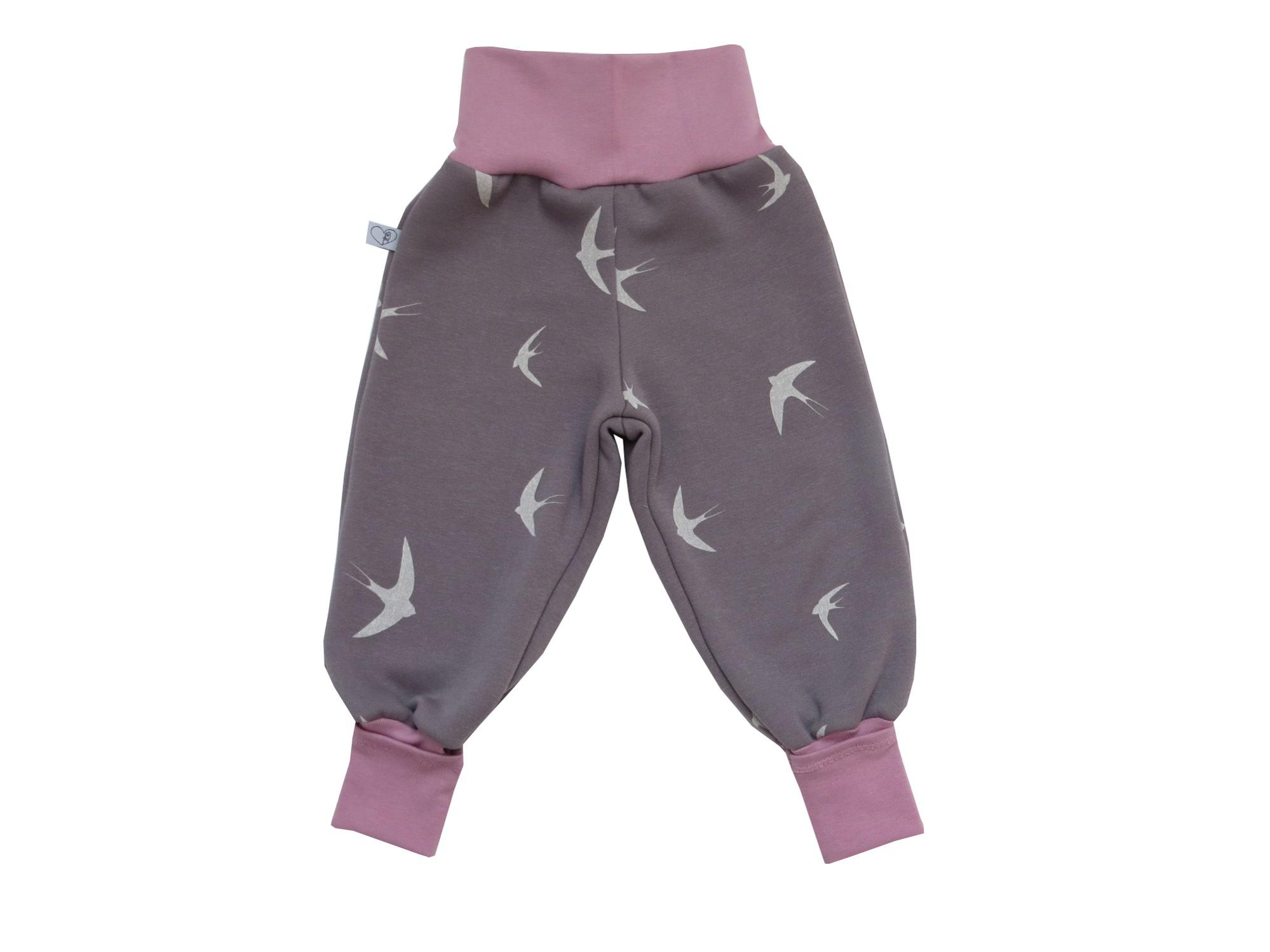 - Warme Mitwachshose für Babys und Kleinkinder in taupe / altrosa - Warme Mitwachshose für Babys und Kleinkinder in taupe / altrosa