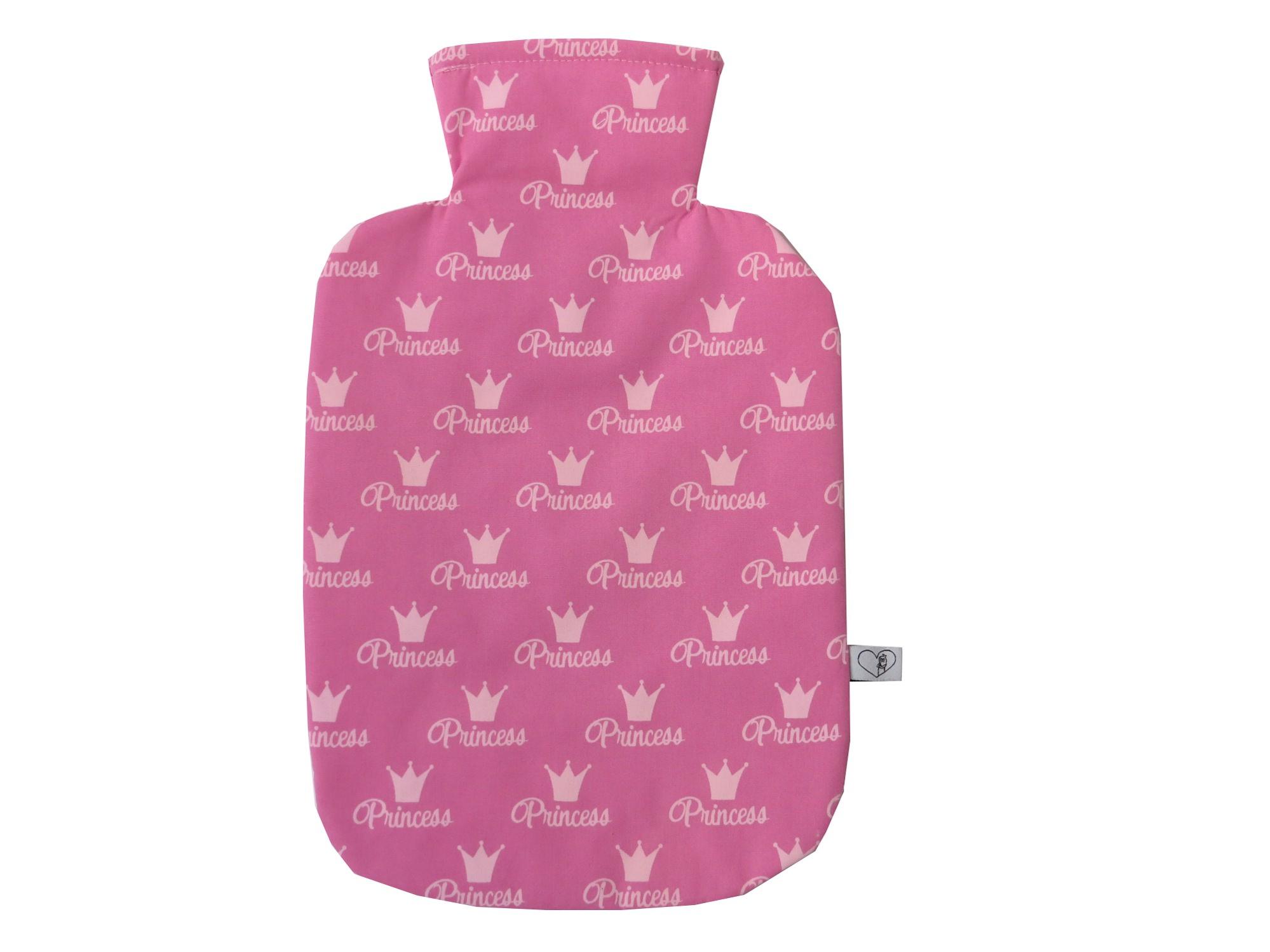 - Wärmflaschenbezug Princess in pink für 2l Wärmflasche - Wärmflaschenbezug Princess in pink für 2l Wärmflasche
