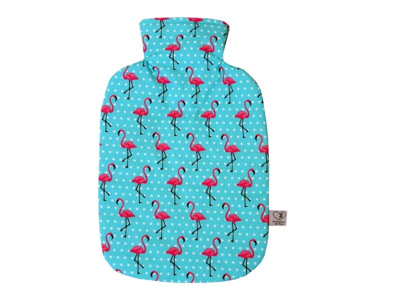 - Wärmflaschenbezug mit NAMEN itürkis mit Flamingos für 2l Wärmflasche - Wärmflaschenbezug mit NAMEN itürkis mit Flamingos für 2l Wärmflasche