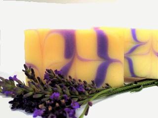 - handgemachte Seife Lavendel - handgemachte Seife Lavendel