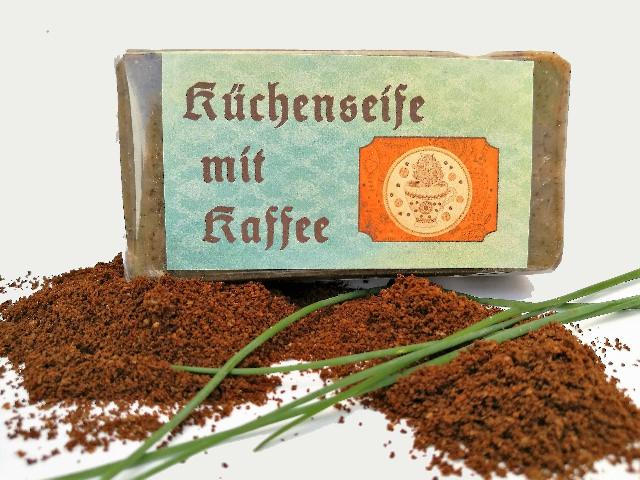 - Küchenseife mit Kaffee - Küchenseife mit Kaffee
