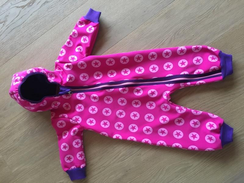 Kleinesbild - Softshellanzug Softshell Anzug Overall // Mädchen // Auswahlstoffe // Wunschgröße 50-98