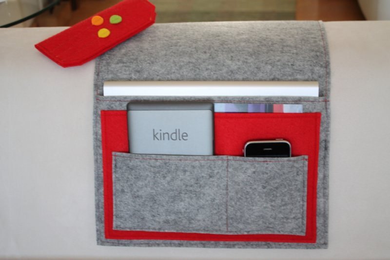 Kleinesbild - Sofa Butler, Sofa Taschen, Couch Organizer,Tablet Tasche, Handy Tasche, individualisierbar