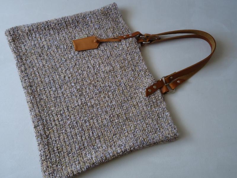 Taschen Häkel Tascheschultertasche Leder Träger Große