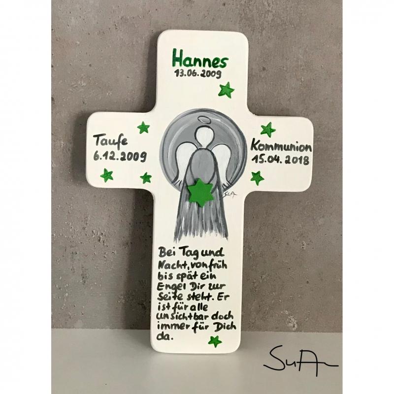 - Taufkreuz Schutzengelkreuz zur Taufe Geburt - Taufkreuz Schutzengelkreuz zur Taufe Geburt