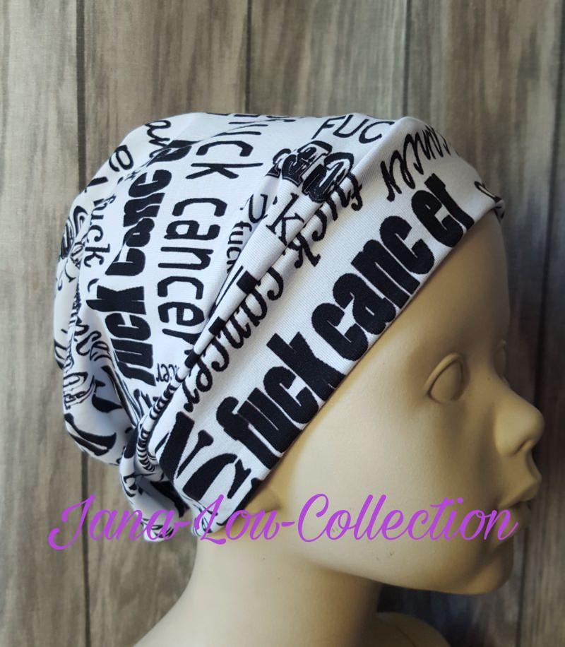 - Chemo - Mütze - Beanie Einheitsgröße / Erwachsene mit einzigartigem Statement - Chemo - Mütze - Beanie Einheitsgröße / Erwachsene mit einzigartigem Statement
