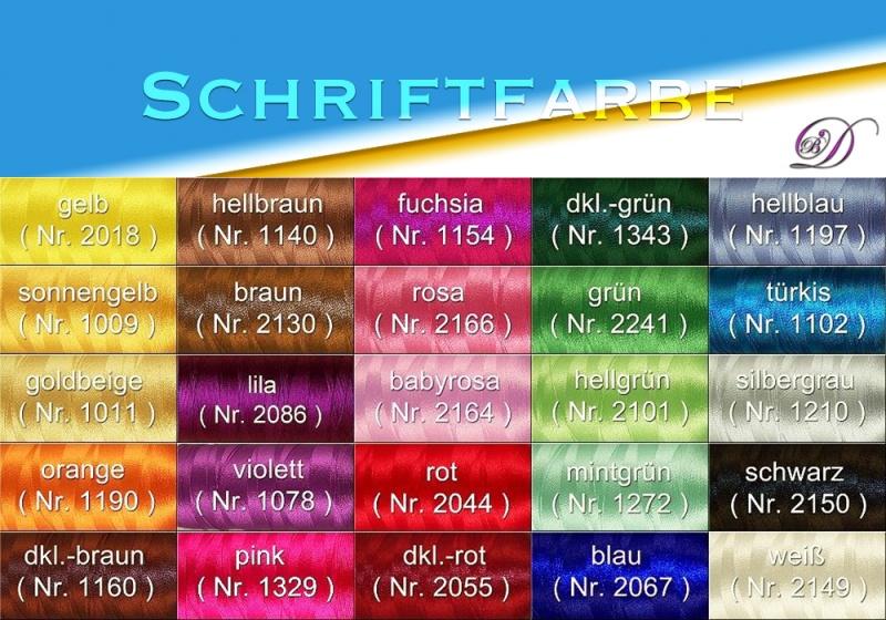Kleinesbild -   ♡ U-Heft Schutzumschlag mit Namen und Wunschmotiv ♡ handgefertigt mit Stickerei