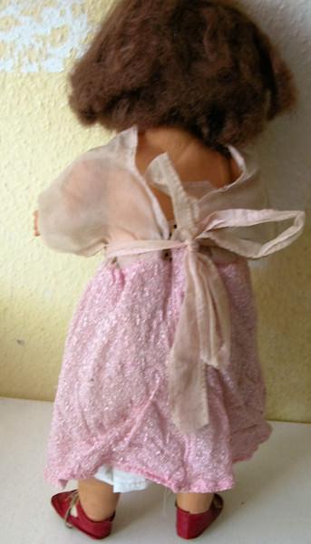 Kleinesbild -  Schöne alte Puppe im Original Zustand -