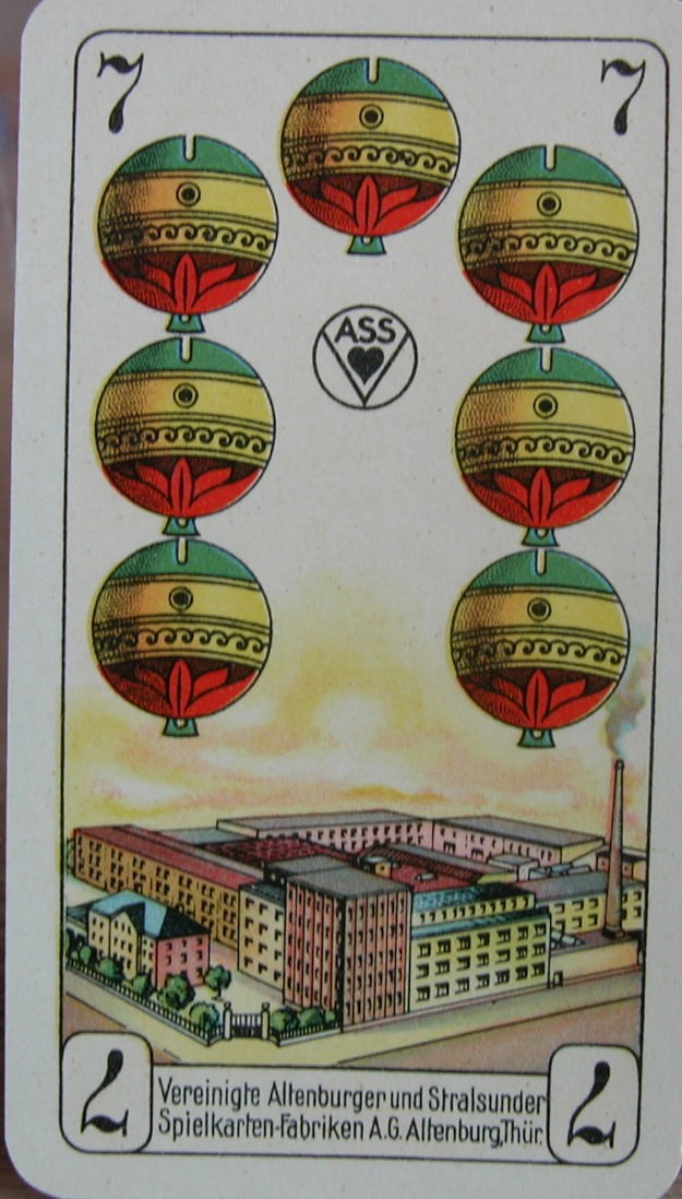Kleinesbild - Kartenspiel AEG Elektrowerkzeuge,31 Karten von Altenburger Spielkarten