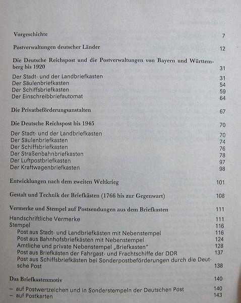Kleinesbild - Zahlreiche Kasten sieht man hängen, kleine Kulturgeschichte deutscher Briefkästen