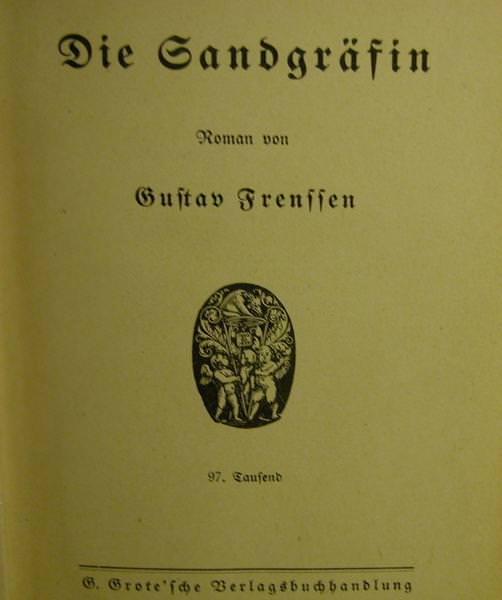 Kleinesbild - Die Sandgräfin Roman von 1921,Verlagsbuchhandlung Berlin