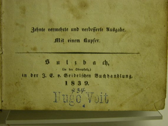 Kleinesbild - Morgen-und Abendopfer nebst anderen Gesängen und einem Anhang von Johann Heinrich Wilhelm Witschel