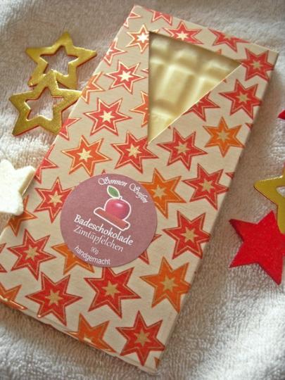 - Badeschokolade ✪ Zimtäpfelchen ✪  Weihnachtsduft 100 g/6,90 € - Badeschokolade ✪ Zimtäpfelchen ✪  Weihnachtsduft 100 g/6,90 €