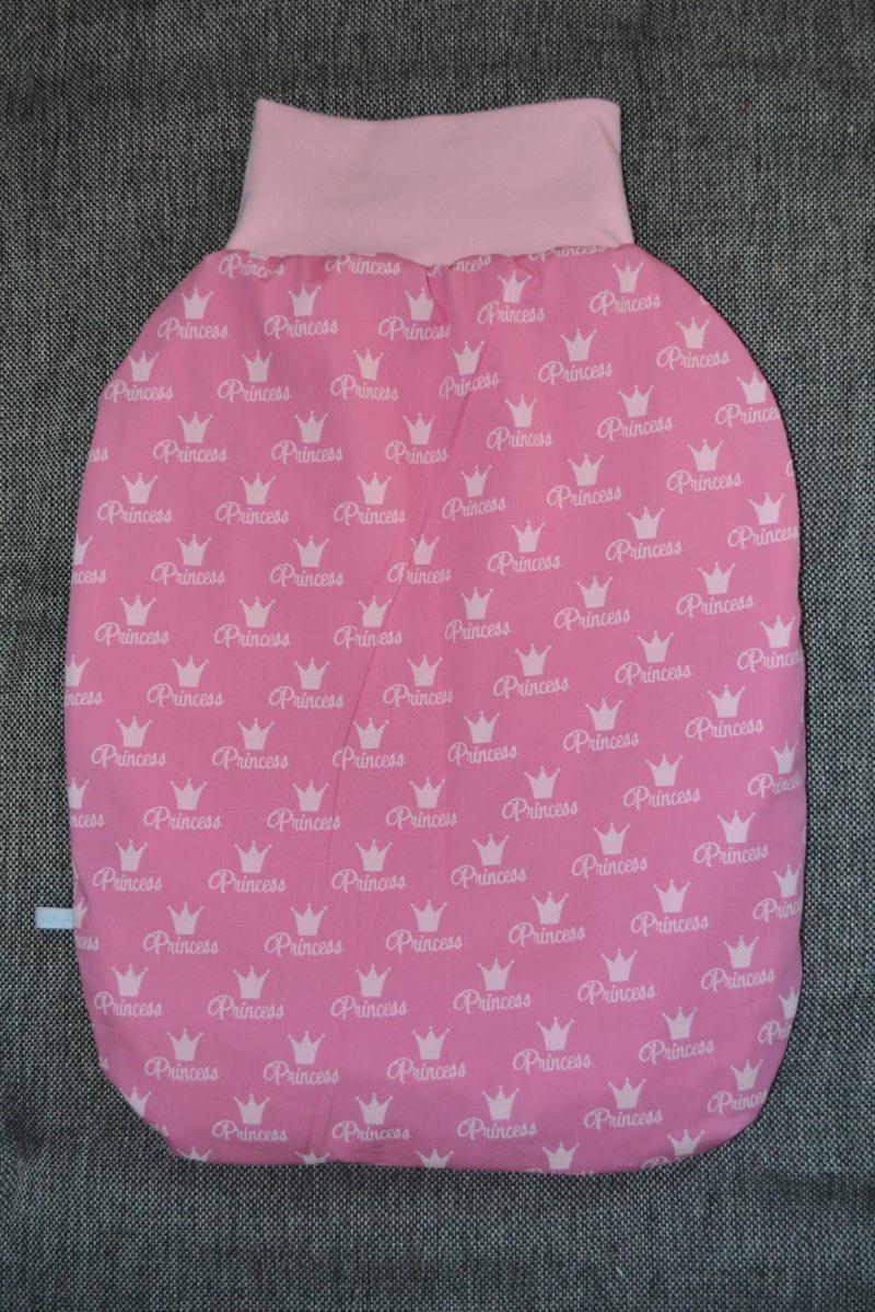 - Pucksack Schlafsack Fußsack gefüttert rose Princess - Pucksack Schlafsack Fußsack gefüttert rose Princess