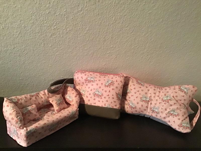 Kleinesbild - Kulturtasche  ❤️ Mädchen ❤️ Unikat - Häschen Hase