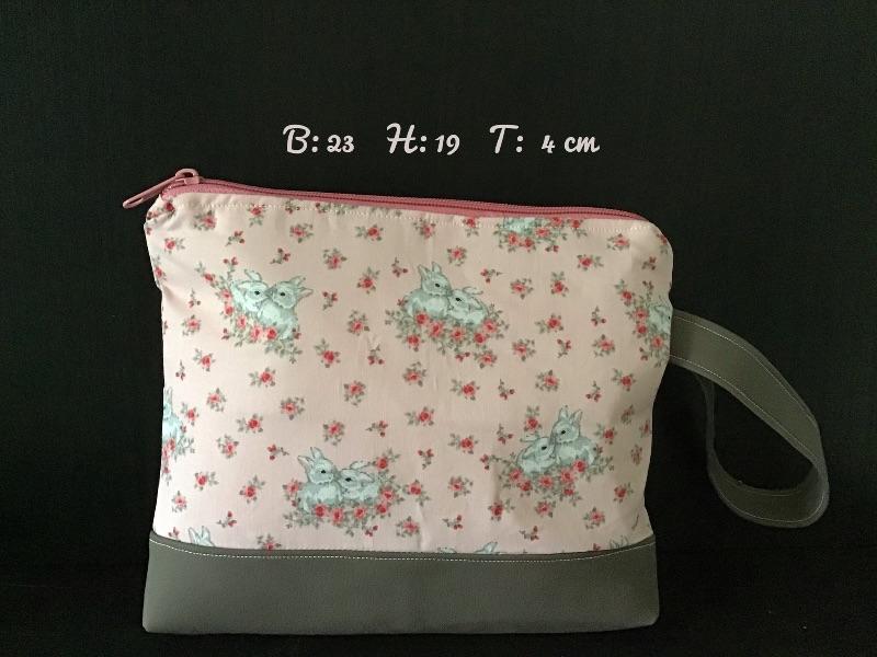 - Kulturtasche  ❤️ Mädchen ❤️ Unikat - Häschen Hase - Kulturtasche  ❤️ Mädchen ❤️ Unikat - Häschen Hase