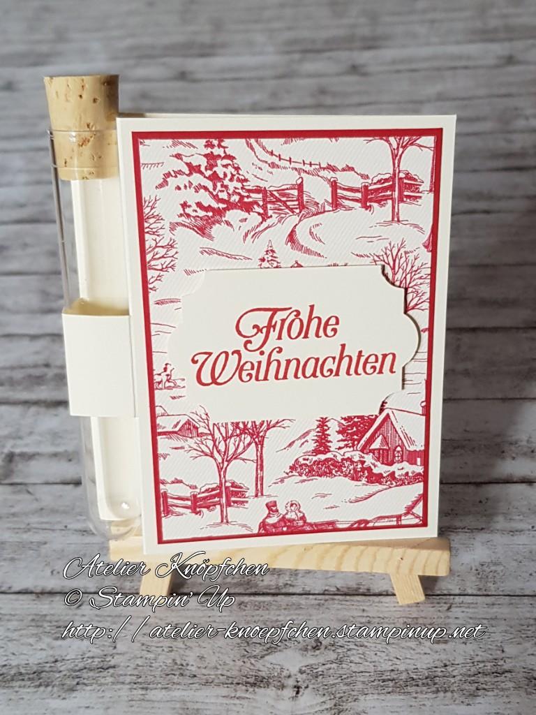 - Wunscherfüllerkarte zu Weihnachten: Landhausweihnacht (01) - Wunscherfüllerkarte zu Weihnachten: Landhausweihnacht (01)