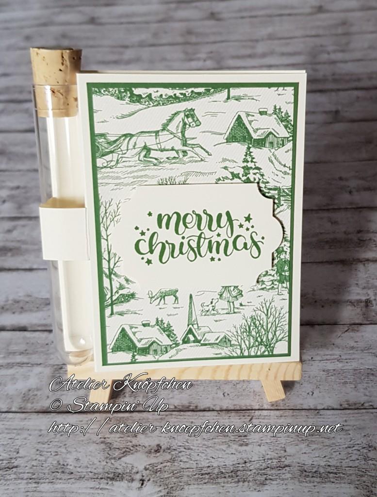 - Wunscherfüllerkarte zu Weihnachten: Landhausweihnacht (02) - Wunscherfüllerkarte zu Weihnachten: Landhausweihnacht (02)