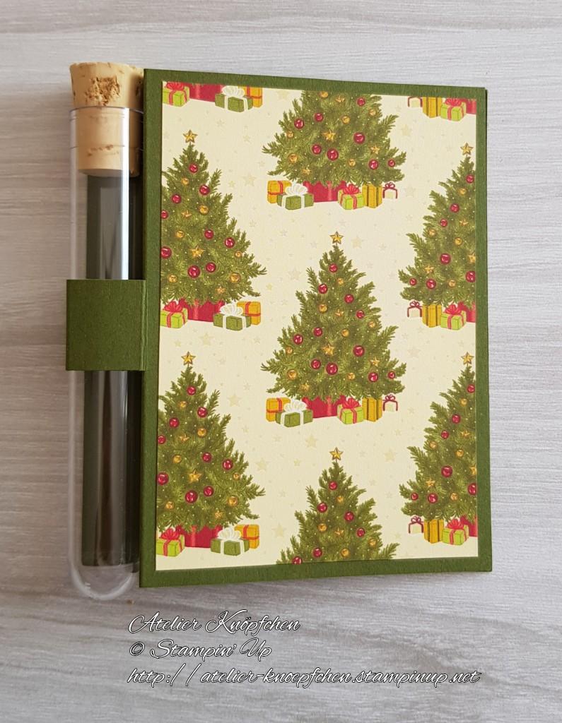 - Wunscherfüllerkarte zu Weihnachten: Weihnachtsbäume - Wunscherfüllerkarte zu Weihnachten: Weihnachtsbäume