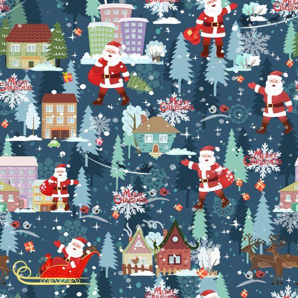 - Weihnachststoff Baumwolldruck - Xmas- Weihnachtsmann mit Schlitten auf jeansblau auch für Stoffmasken Weihnachtsstoff made in EU - Weihnachststoff Baumwolldruck - Xmas- Weihnachtsmann mit Schlitten auf jeansblau auch für Stoffmasken Weihnachtsstoff made in EU