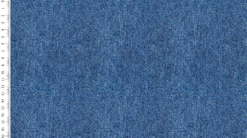 - 0,50m Jersey Digital Jeans Baumwolll-Jersey-Stoff uni Jeansfarbe Öko-Tex Standard 100 - Meterware EU Stoffe - 0,50m Jersey Digital Jeans Baumwolll-Jersey-Stoff uni Jeansfarbe Öko-Tex Standard 100 - Meterware EU Stoffe