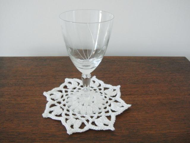 Wohnen Untersetzer Für Gläser Oder Tassen Gehäkelt 6 Stück 100