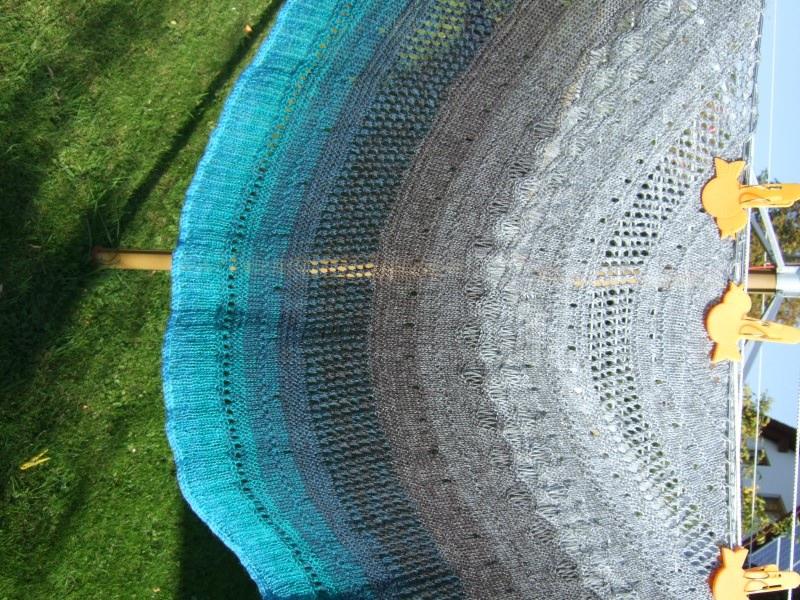 Kleinesbild - 4-fädig gefachtes Farbverlaufsgarn Wolke 7 Gletscher 1000m Lauflänge
