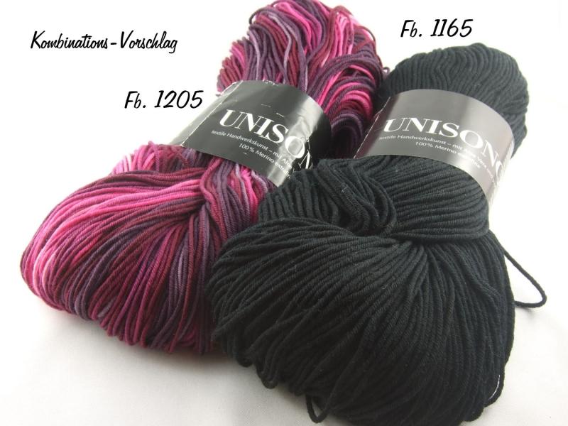 Kleinesbild - Atelier Zitron - Unisono Uni mit Aloe Vera und Jojoba - Farbe 1165 schwarz