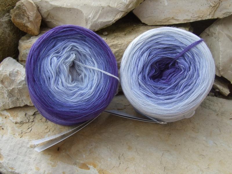 - 5-fädig gefachtes Farbverlaufsgarn (Bobbel) Wolke 7 Purple 660m Lauflänge - 5-fädig gefachtes Farbverlaufsgarn (Bobbel) Wolke 7 Purple 660m Lauflänge