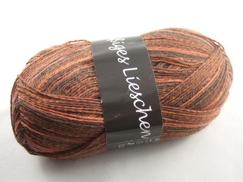 - schöne 4-fach Sockenwolle Fleißiges Lieschen in kupfer, Farbe Nr. 01 - schöne 4-fach Sockenwolle Fleißiges Lieschen in kupfer, Farbe Nr. 01