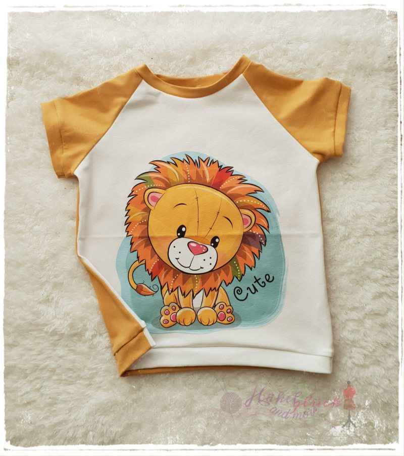 - T-Shirt ♥Cute Lion♥ Größe 92/98 - T-Shirt ♥Cute Lion♥ Größe 92/98
