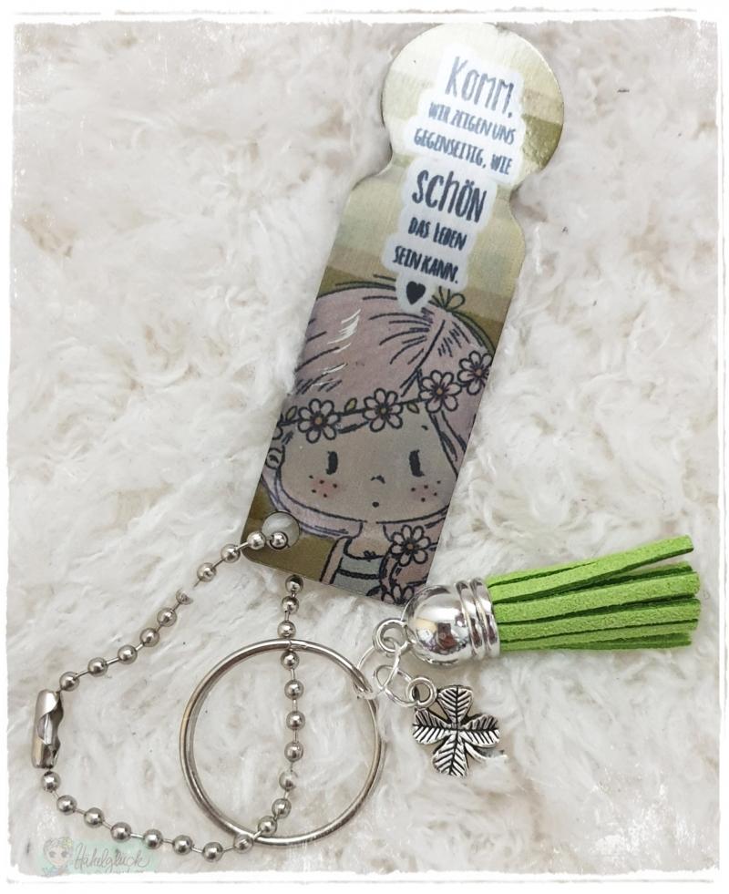 - Einkaufswagenlöser ♥ Schlüsselanhänger ♥ Schönes Leben - Einkaufswagenlöser ♥ Schlüsselanhänger ♥ Schönes Leben