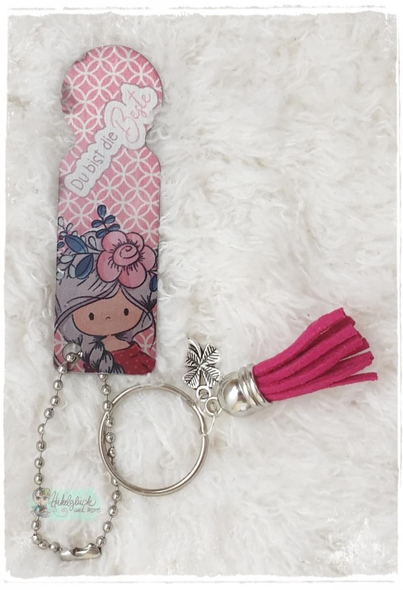 - Einkaufswagenlöser ♥ Schlüsselanhänger ♥ Du bist die Beste - Einkaufswagenlöser ♥ Schlüsselanhänger ♥ Du bist die Beste