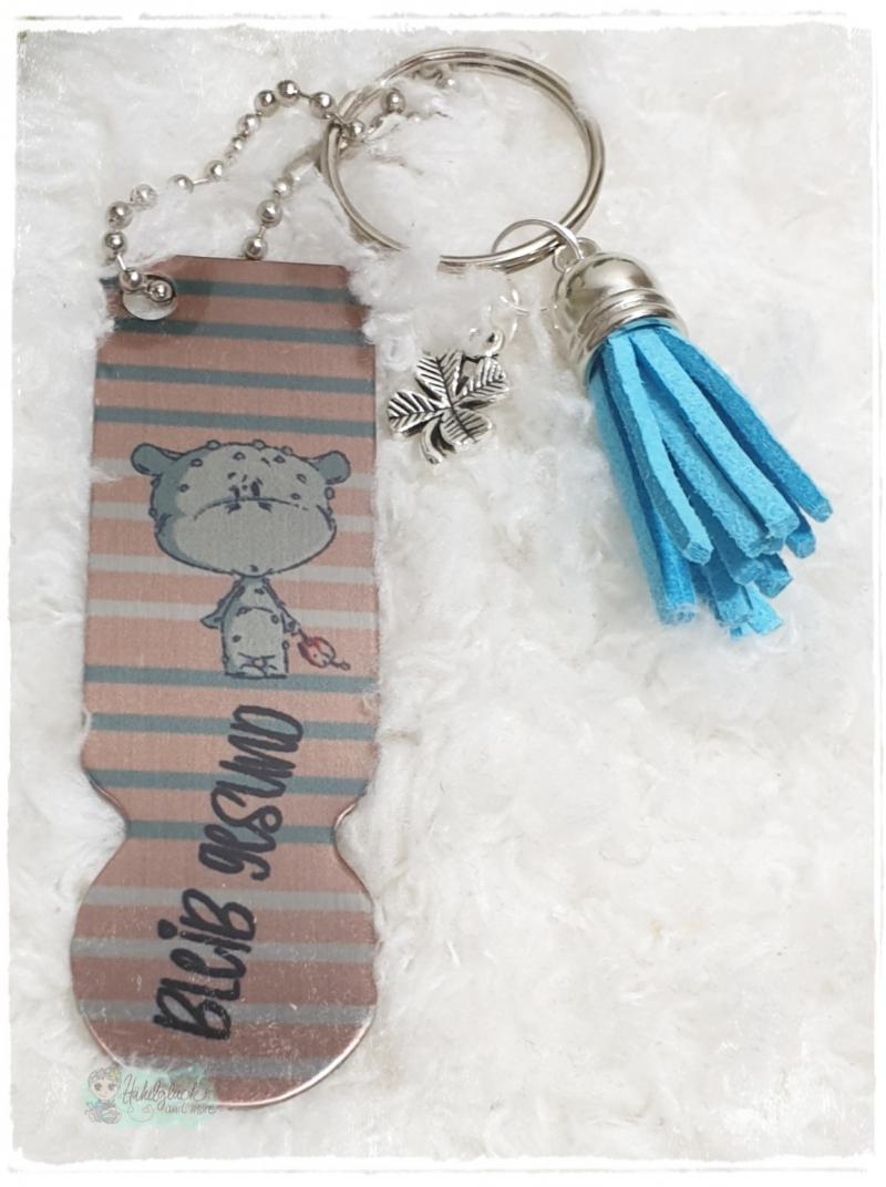 - Einkaufswagenlöser ♥ Schlüsselanhänger ♥ Bleib gesund-gestreift - Einkaufswagenlöser ♥ Schlüsselanhänger ♥ Bleib gesund-gestreift