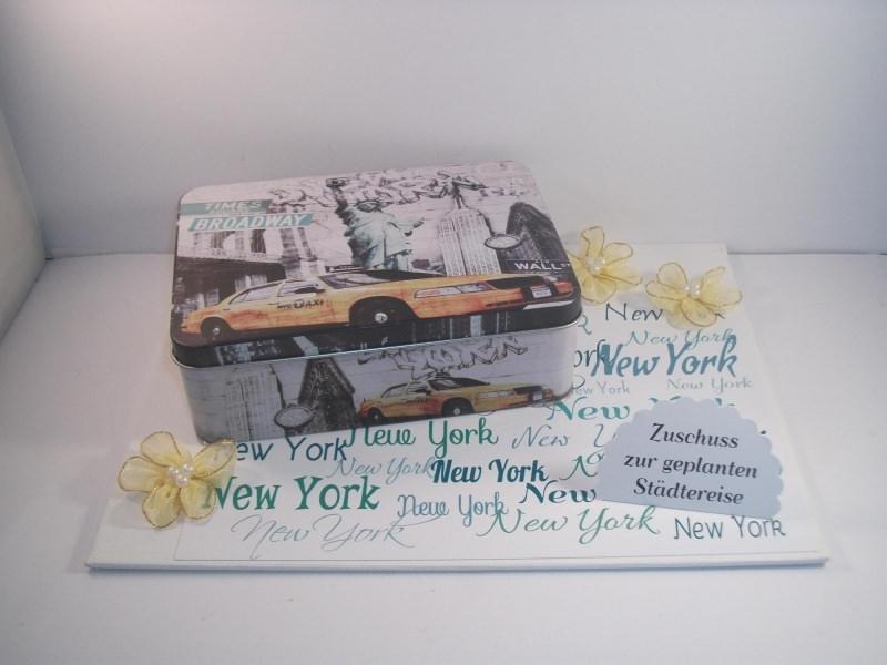 - Geldgeschenk Geburtstag, Städtereise New York, Gutschein, Reise, Amerika - Geldgeschenk Geburtstag, Städtereise New York, Gutschein, Reise, Amerika