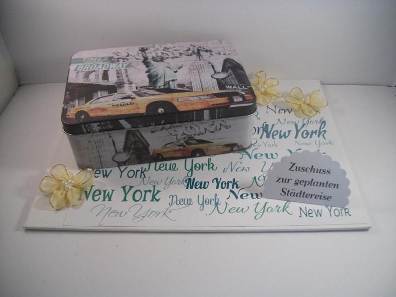 Kleinesbild - Geldgeschenk Geburtstag, Städtereise New York, Gutschein, Reise, Amerika