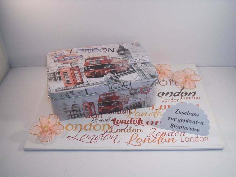 Anlasse Geldgeschenk Stadtereise London Gutschein Reise England