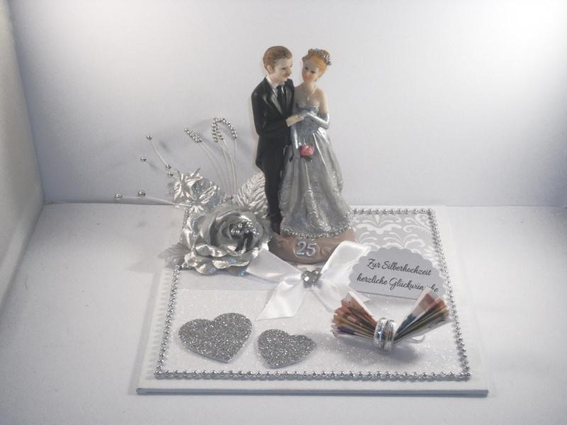 Geldgeschenk Zur Silberhochzeit 25 Ehejubiläum 25 Hochzeitstag