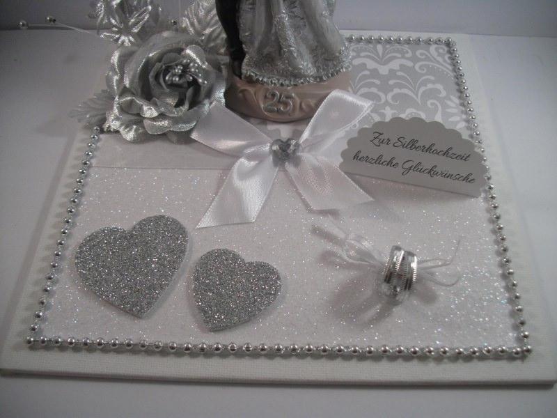 Kleinesbild - Geldgeschenk zur Silberhochzeit, 25, Ehejubiläum, 25. Hochzeitstag