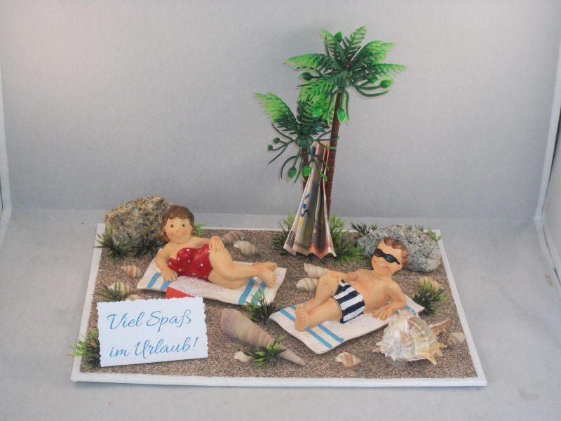 Anlasse Geldgeschenk Urlaub Urlaubsgeld Geburtstag Strand