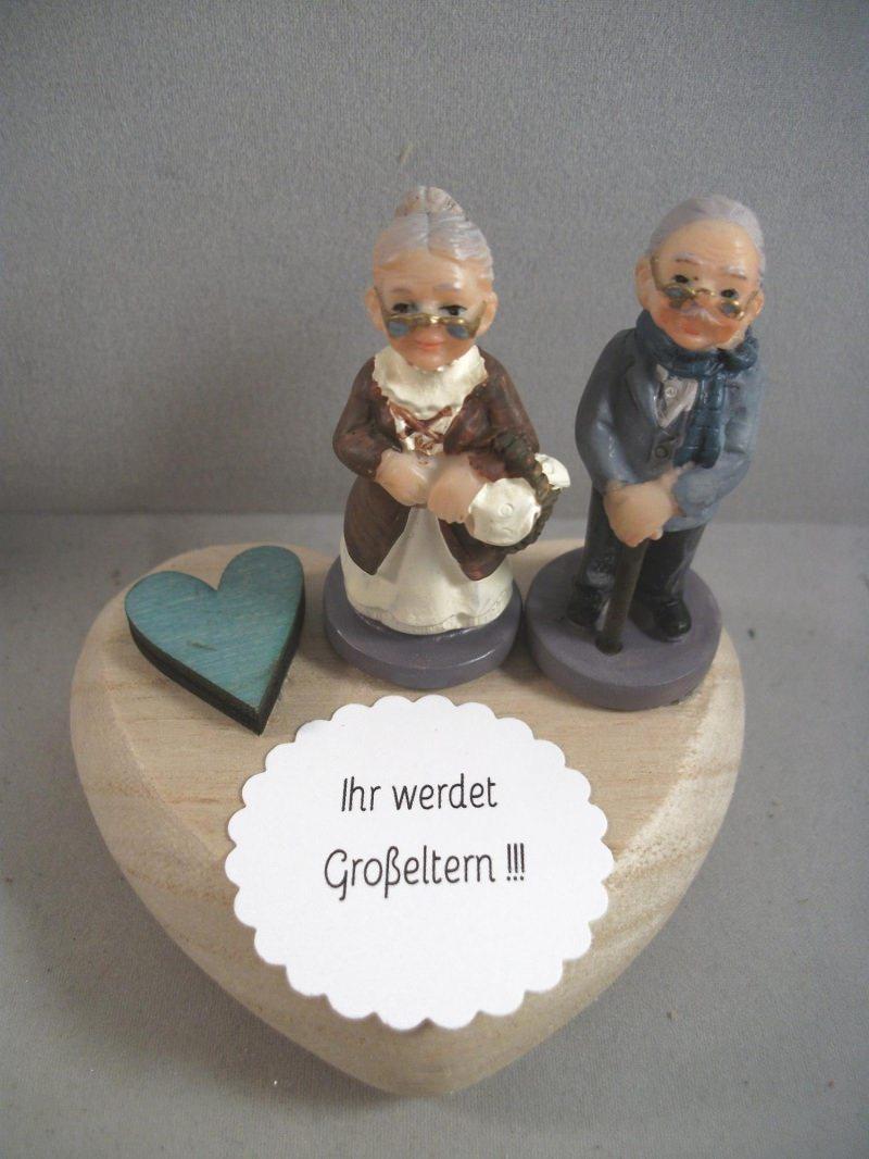 Kleinesbild - Geschenk, Ihr werdet Großeltern, Oma, Opa, Urgroßeltern, 1 St. -  Auswahl