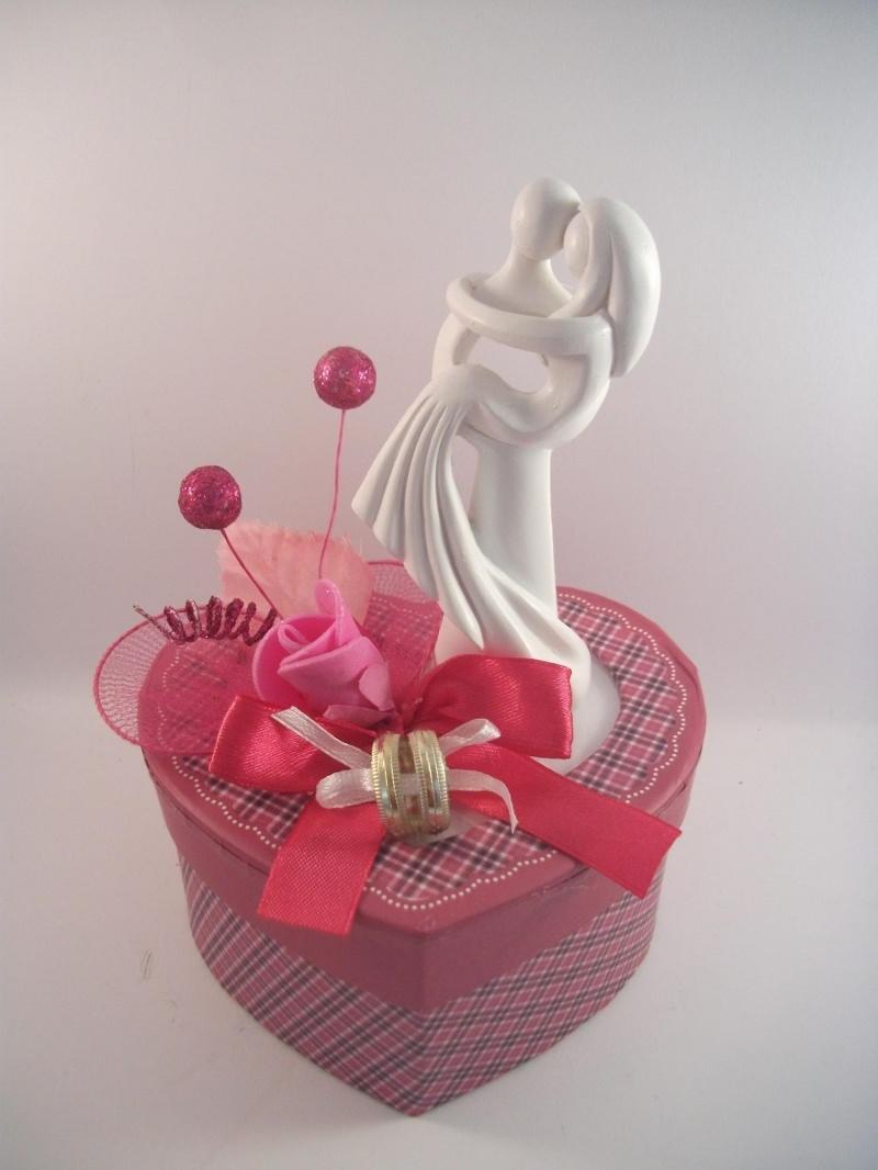 Kleinesbild - Geldgeschenk Hochzeit, Brautpaar modern, Skulptur, weiß, stilisiert