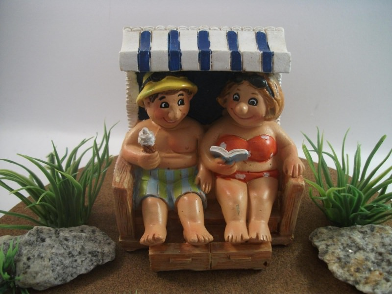 Kleinesbild - Geldgeschenk Geburtstag, Urlaub, Urlaubsgeld, Strandurlaub, Strandkorb, Ostsee, Nordsee, lustig, humorvoll