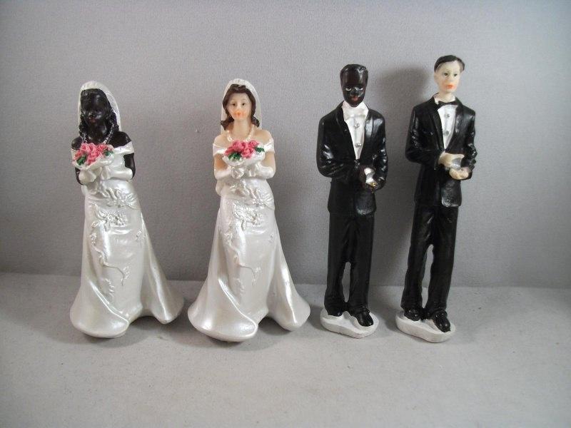 Kleinesbild - Hochzeit, Geldgeschenk, Braut oder Bräutigam farbig dunkelhäutig, Wunschzusammenstellung